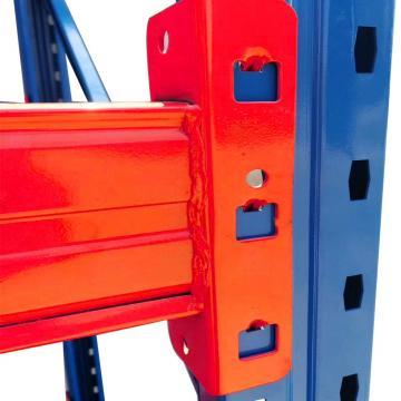 Heavy Duty Steel Pallet Flow Fifo Rack for Industrial Warehouse