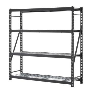 5 Shelf Metal Rivet Rack Boltless Industrial Shelving Unit