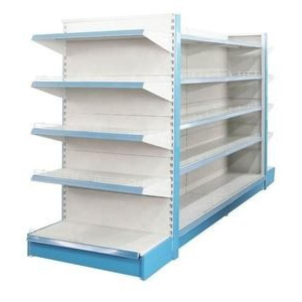 Supermarket Store Display Metal Wooden Fruit and Vegetable Stand Rack and Gondola Shelf for Sale
