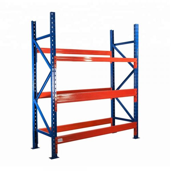 Drive-Through Warehouse Metal Storage Rack